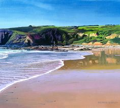 Be back here soon :-)  Lapping Tide, Praa Sands by Richard Stanley