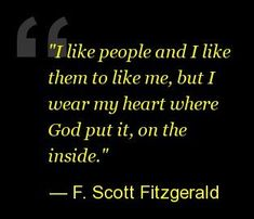 And just like that, I want to read everything this man ever wrote. F. Scott Fitzgerald Quotes
