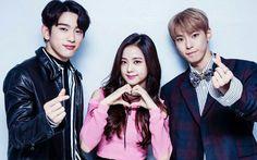 Jinyoung, Jisoo and BlackPink and NCT Got7 Jinyoung, Kim Jennie, Nayeon, Wallpaper Rose, Best Photo Background, Nct Doyoung, Cute Rose, Wattpad, Dahyun