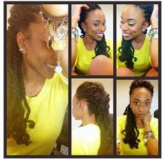 Natural hair o Dreadlock Wedding Hairstyles, Plaits Hairstyles, Natural Hairstyles, Natural Hair Braids, Natural Curls, Au Natural, Going Natural, Natural Beauty, Afro Textured Hair