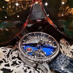 Greubel Forsey Tourbillon 24 Secondes Contemporain 25 degree inclined tourbillon with Diamond set Case & Dial.
