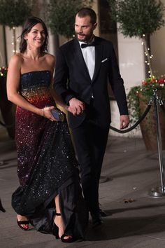 they are perfect. Over and over again! Jamie & Amelia, 2017 BAFTA's afterparty