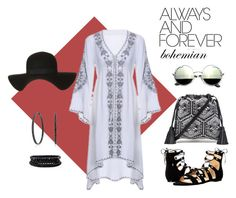 """""""Always Bohemian - Bell Sleeves"""" by marshas-style on Polyvore featuring Rebecca Minkoff, Ivanka Trump, Topshop, Bling Jewelry and Spring Street"""