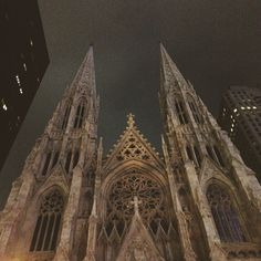 St. Patricks Cathedral, New York City. #NYC