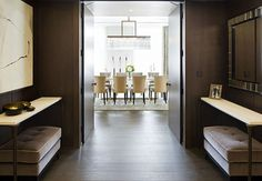 Sophisticated Dining Room Decor Ideas By @1508London To Inspire You