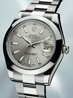 For grown as men only. Rolex 'Oyster Perpetual' Datejust