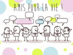 Carte gratuite pour l'amitié disponible pour un groupe à l'adresse : http://www.starbox.com/carte-virtuelle/cybercarte-amitie/carte-amis-groupe