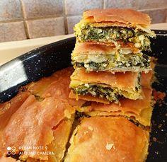 Σπανακοτυρόπιτα Spanakopita, Ethnic Recipes, Food, Essen, Meals, Yemek, Eten