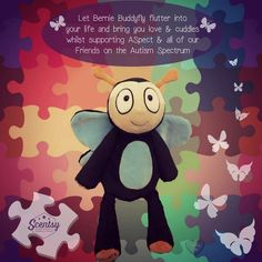 Bernie the Buddyfly is back to support Autism Awareness! Get your Scentsy buddy now!