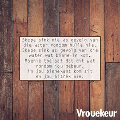 Simply Life, Afrikaanse Quotes, Spring Blossom, My Land, Daily Bread, Groot, Inspiration, Advice, Van