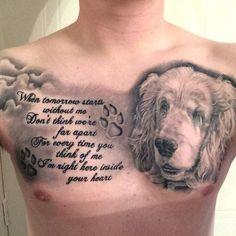Image result for dog memorial tattoos
