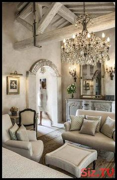 If you are looking for French Country Living Room Design Ideas, You come to the right place. Below are the French Country Living Room Design Ideas. This post about French Country Living Room Design Id. Tuscan Decorating, French Country Decorating, French Decor, Decorating Ideas, Decor Ideas, 31 Ideas, Room Ideas, Wall Ideas, French Country Bedrooms