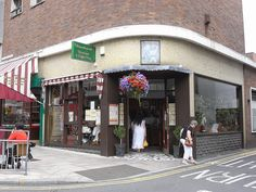 """Kardomah Coffee house, Swansea, Wales - Throughout my childhood, this was a regular destination for """"frothy coffee"""" on shopping trips.  I still try to visit whenever I go back."""
