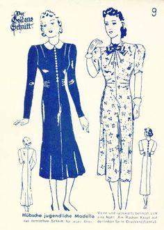 Lutterloh 1938 Book Of Cards -  Models Card 9