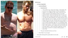 Motivational - Chris Pratt  The best part is knowing he was REALLY out of shape.. not just 'out of shape'