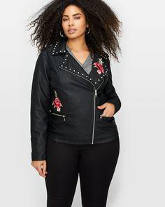Faux leather jacket by Love & Legend