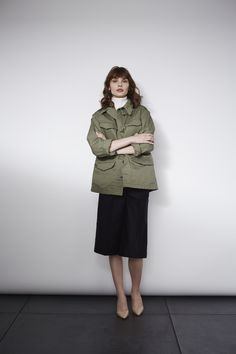 THE SHINZONE FALL 2015 DENIM & OLIVE DRAB