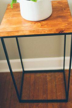 Laundry Hamper turned Beautiful Modern Side Table - IKEA Hackers - IKEA Hackers