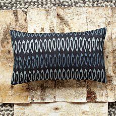 Allegra Hicks Drop Links Crewel Pillow Cover