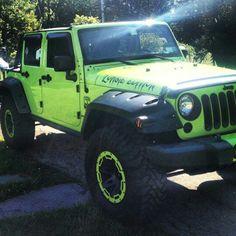 My badass zombie jeep