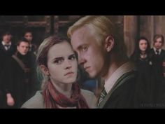 Draco + Hermione • Fall back in love eventually - YouTube Draco And Hermione, Hermione Granger, Drago Malfoy, Falling Back In Love, Fall Back, Dramione, Tom Felton, Music Videos, Couple Photos