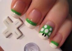 Green nintendo mushroom :)