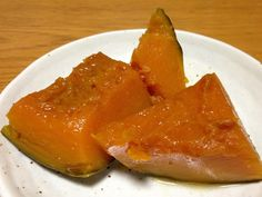 Kabocha no Nimono / SImmered Pumpkin  It's a simple recipe and cooked well at home.  #japanesefood