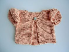 Baby cardigan, cotton knit baby vest, heirloom knit, girls knit cardigan, girls vest, peach girls vest, peach baby cotton frill knit by Peterandthesheep on Etsy