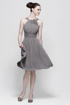 possible grey bridesmaid dress