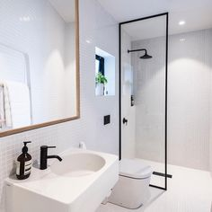 Colab Architecture's little 'Urban Cottage' project. Light bright and clean. Urban Cottage, Bathtub, Shower, Mirror, Architecture, Interior, Bathrooms, Projects, Houses