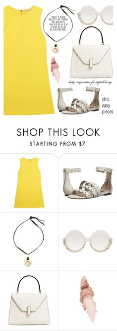 """Chic easy pieces"" by jan31 ❤ liked on Polyvore featuring Alice + Olivia, Folio, Marni, Valextra and Maybelline"