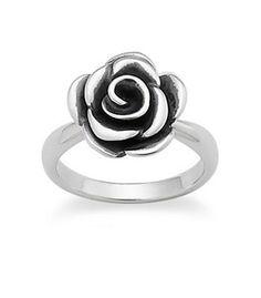 Rose Blossom Ring #rosering #jamesavery