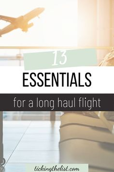 Let's be honest, long haul flights are not comfortable, especially stuck in economy class. These essentials will have you feeling comfortable and fresh as soon as you get off the plane.