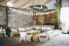 Ceri and Nick's Rustic Chic Welsh Farm Wedding By Mike Plunkett Photography