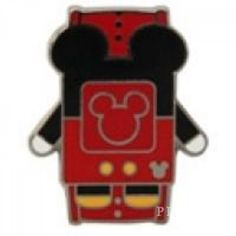 WDW - 2014 Hidden Mickey Series - Character MagicBands - Mickey Mouse - Pin 102261