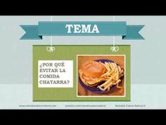 Por qué evitar la comida chatarra. Más información en: http://www.remediocaseronatural.com/vida-saludable-por-que-evitar-la-comida-chatarra.htm