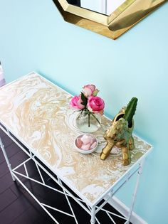 Getting Sticky With It: 16 Things Contact Paper Can Completely (and Immediately) Transform | Apartment Therapy