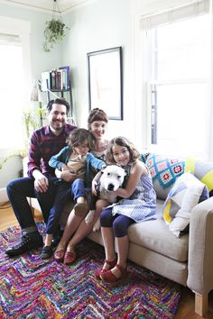 Irina and Daniel's Colorful Vintage Menagerie — House Tour