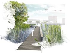 The Best Landscape Plan Drawing Section No 50 — Design & Decorating - The Best Landscape Plan Drawing Section No 52 - Collage Architecture, Plans Architecture, Landscape Architecture Drawing, Architecture Graphics, Landscape Plans, Landscape Drawings, Cool Landscapes, Urban Landscape, Contemporary Architecture