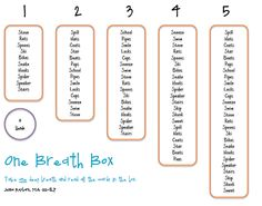 Speech Room News: One Breath Box.  The artic kids love these!