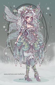 Winter Fairy by NoFlutter.deviantart.com on @DeviantArt