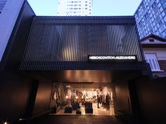 The São Paulo flagship store of Brazilian fashion designer Alexandre Herchcovitch was modelled after his own clothing line.