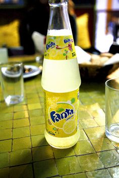 Favorite soda in the world. But I can only get it when I'm in Spain.