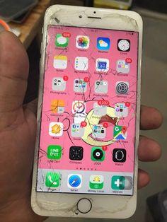 ร้านซ่อมไอโฟน ซ่อม iphone5s จอเสีย เปลี่ยนจอไอโฟน งานเหมือนแท้ 3a Foxconn รับประกันยาว 1 ปี Iphone 7plus Rose Gold, Organize Apps On Iphone, Iphone 5s, Iphone Cases, Whats On My Iphone, Broken Phone, Mobile Phone Price, Iphone App Layout, Phone Organization