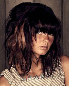 Stunning Medium Straight Brown Indian Remy Hair Wigs 16 Inch