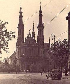 Warszawa - kościół Najświętszego Zbawiciela arch. Józef Pius Dziekoński (lata 30. XX w.)