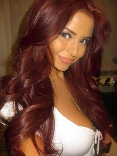 Sexy Red Hair | hair and makeup | Pinterest