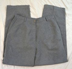 Kathie Lee Collection Elastic Waist Womens Gray Dress Pants Size 14P (Q26#1038) #KathieLeeCollection #DressPants Grey Dress Pants, Denim Branding, Talbots, Elastic Waist, Brand New, Jeans, Skirts, Collection, Tops