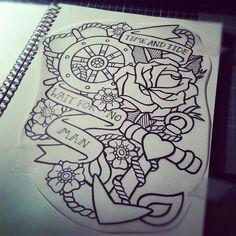 tattoo#tattoo design #tattoo patterns| http://wonderfultatoosthelma.blogspot.com