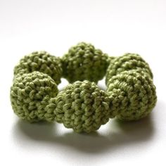 crocheted rattle